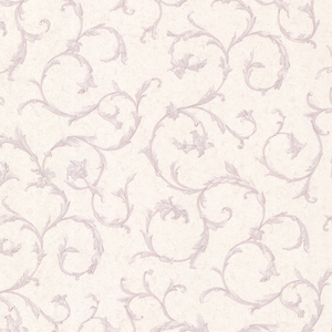Clover Lavender Acanthus Scroll Wallpaper 2530-20540