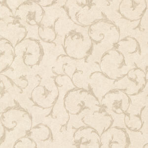 Clover Beige Acanthus Scroll Wallpaper 2530-20542