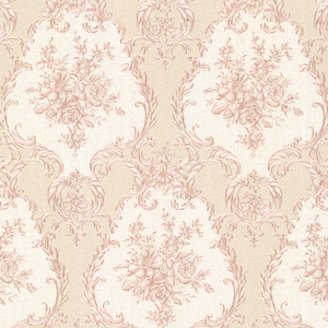 Viola Pink Damask Wallpaper 2530-20544
