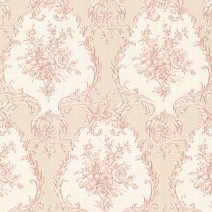 Viola Pink Damask Wallpaper 2530-20544
