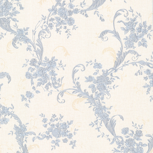 Eleanora Blue Floral Trail Wallpaper 2530-20549