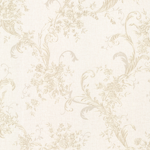 Eleanora Beige Floral Trail Wallpaper 2530-20550
