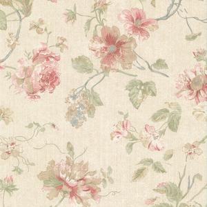 Marnie Pink Peony Trail Wallpaper 2530-20551