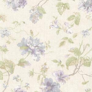 Marnie Lavender Peony Trail Wallpaper 2530-20555