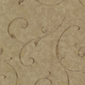 Emilie Sepia Scroll Wallpaper 2530-60124