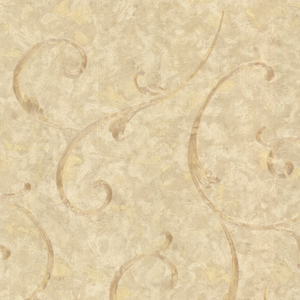 Emilie Bronze Scroll Wallpaper 2530-60126