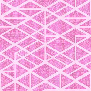 Wilde Pink Mural 347613