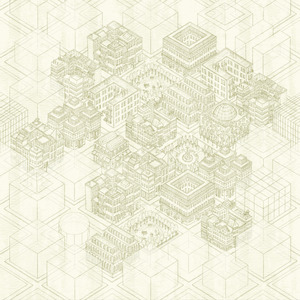 Building Blocks' Honey Mural 347616
