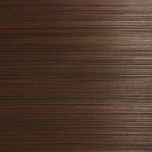 Xin Qian Dark Brown Grasscloth Wallpaper 63-54710