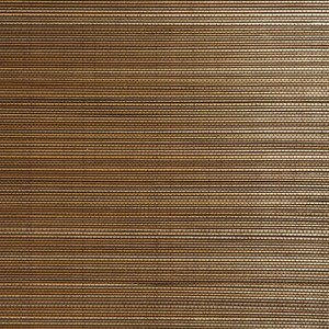Chen Brown Grasscloth Wallpaper 63-54714