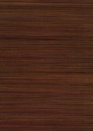 Xue Fang Dark Brown Grasscloth Wallpaper 63-54718