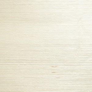 Ming Cream Grasscloth Wallpaper 63-54720