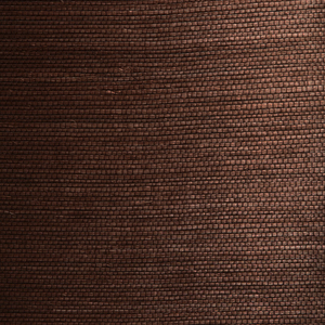 Xiu Dark Brown Grasscloth Wallpaper 63-54721
