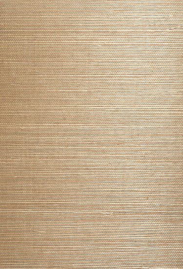 Chang Taupe Grasscloth Wallpaper 63-54741