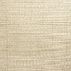 Mirei Light Green Grasscloth Wallpaper 63-54751