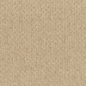 Hui Ying Taupe Grasscloth Wallpaper 63-54782