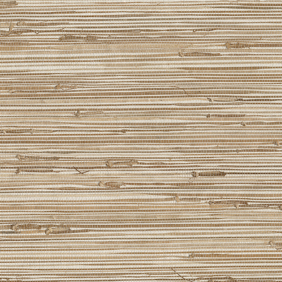 Ting Taupe Grasscloth Wallpaper 63-65601