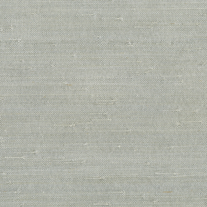 Jin Light Grey Grasscloth Wallpaper 63-65655