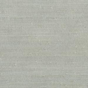 Jin Light Grey Grasscloth Wallpaper 63-65655
