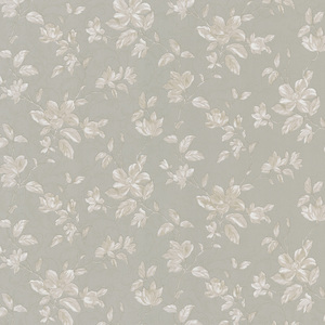 Plumier Taupe Mid Scale Floral Wallpaper 988-58602