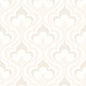 Lola Beige Ogee Bargello Wallpaper 2535-20603