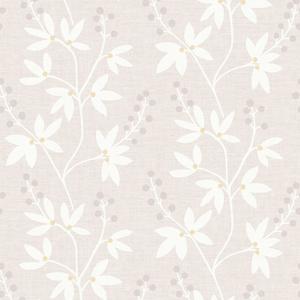 Currant Beige Botanical Trail Wallpaper 2535-20612