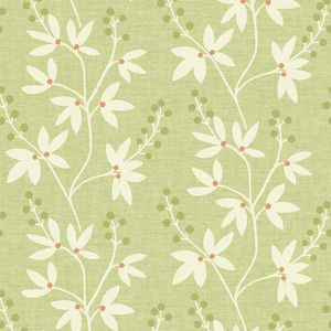 Currant Green Botanical Trail Wallpaper 2535-20613