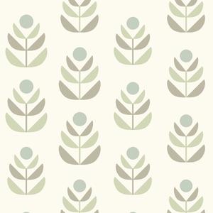 Oslo Grey Geometric Tulip Wallpaper 2535-20618