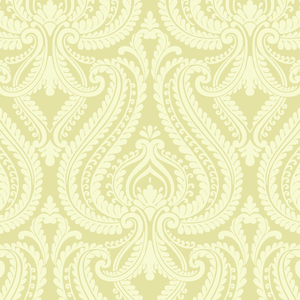 Imperial Green Modern Damask Wallpaper 2535-20623