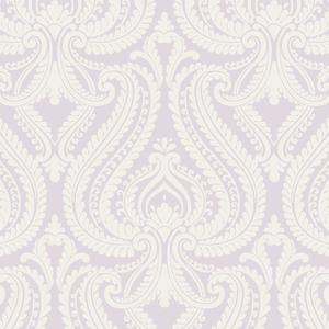 Imperial Lavender Modern Damask Wallpaper 2535-20624