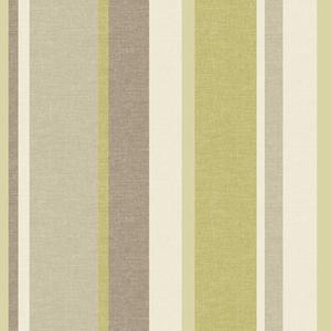 Raya Green Linen Stripe Wallpaper 2535-20631