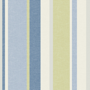 Raya Blue Linen Stripe Wallpaper 2535-20635