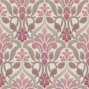 Fusion Purple Ombre Damask Wallpaper 2535-20645