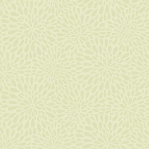 Calendula Green Modern Floral Wallpaper 2535-20662