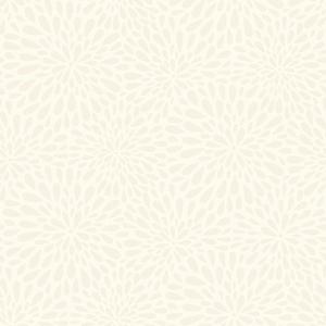 Calendula Beige Modern Floral Wallpaper 2535-20664