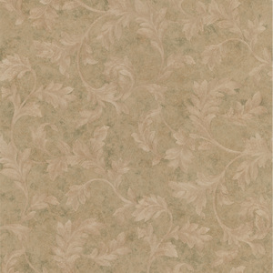 Totteridge Olive Leafy Scroll Wallpaper 990-44863