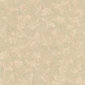 Totteridge Light Green Leafy Scroll Wallpaper 990-44864