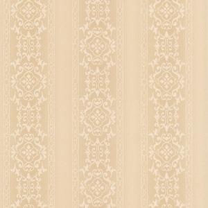 Camden Beige Ornate Stripe Wallpaper 990-65000