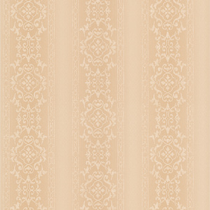 Camden Peach Ornate Stripe Wallpaper 990-65003