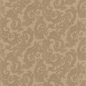 Fulham Brass Scrolls Wallpaper 990-65006