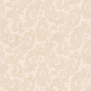 Fulham Cream Scrolls Wallpaper 990-65007