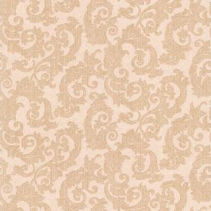 Fulham Light Brown Scrolls Wallpaper 990-65008