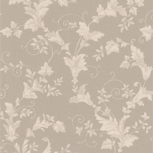 Thames Silver Leafy Scroll Wallpaper 990-65029