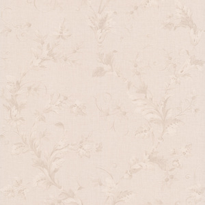 Totteridge White Leafy Scroll Wallpaper 990-65030