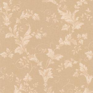Thames Beige Leafy Scroll Wallpaper 990-65031