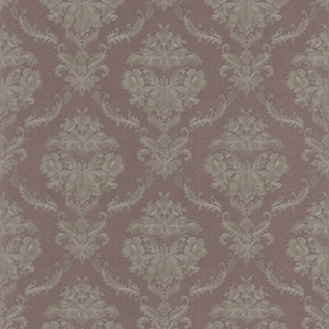 Westminster Mauve Damask Wallpaper 990-65042