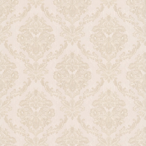 Westminster White Damask Wallpaper 990-65043