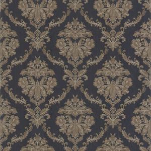 Westminster Dark Blue Damask Wallpaper 990-65046