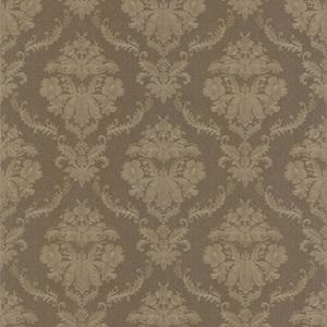 Westminster Brown Damask Wallpaper 990-65048