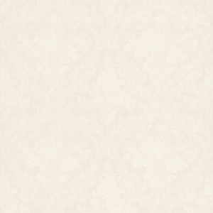 Cotswold White Floral Damask Wallpaper 990-65091